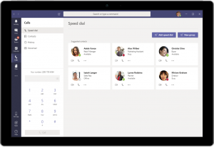 Microsoft Teams Phone System Contacts